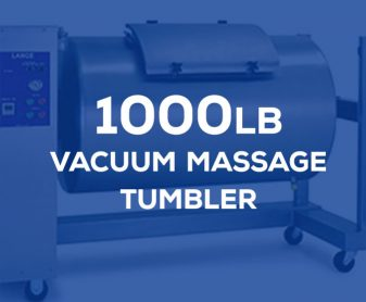 LT-60: 1000 pound vacuum massage tumbler