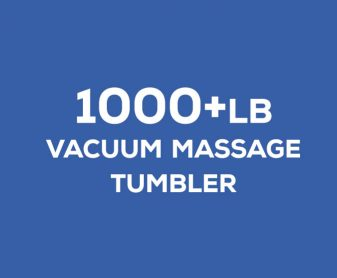 1000+ pound vacuum massage tumbler