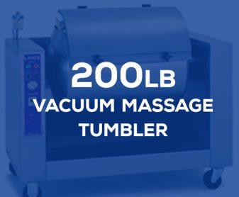 LT-15: 200 pound vacuum massage tumbler